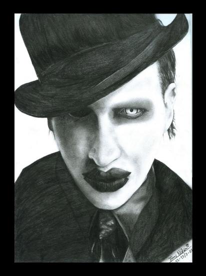 Marilyn Manson by PyramidHeadxXx